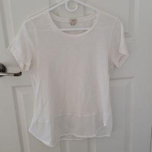 Sheer back tshirt